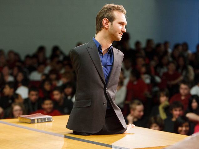 Nic vujicic letters to a modern day Job