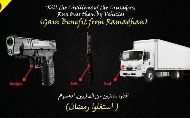 Handgun Knife Truck