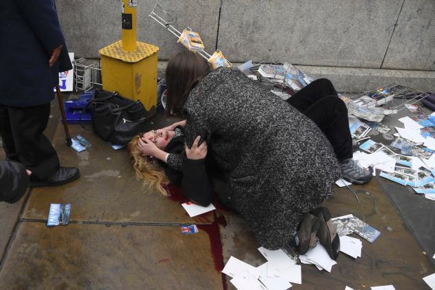 woman-lies-injured-shotting-incident-westminster-bridge-london
